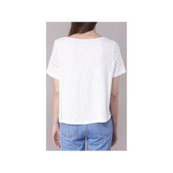 T-shirty z krótkim rękawem Roxy  FEELIN MOODY. Białe t-shirty damskie marki Roxy, l, z nadrukiem, z materiału. Za 143,20 zł.