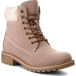 Trapery JENNY FAIRY - WS722-6 Beige. Brązowe buty zimowe damskie Jenny Fairy, ze skóry ekologicznej. W wyprzedaży za 99,99 zł.