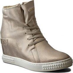 Sneakersy CARINII - B3519 F76-000-PSK-B88. Żółte sneakersy damskie Carinii, z materiału. W wyprzedaży za 259,00 zł.