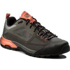 Buty trekkingowe damskie: Trekkingi SALOMON - X Alp Spry W 398601 20 V0 Castor Gray/Beluga/Living Coral