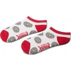 Skarpety Niskie Dziecięce FREAK FEET - JSSTO-WHT Biały Kolorowy. Niebieskie skarpetki męskie marki Freak Feet, w kolorowe wzory, z bawełny. Za 9,99 zł.