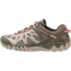 Merrell ALL OUT BLAZE AERO Obuwie hikingowe beige/khaki. Niebieskie buty sportowe damskie marki Merrell, z materiału. Za 479,00 zł.
