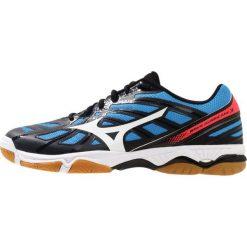 Buty do siatkówki męskie: Mizuno WAVE HURRICANE 3 Obuwie do siatkówki black/white/fiery coral