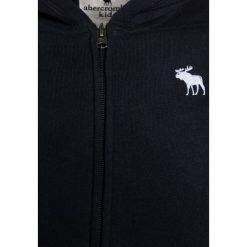 Abercrombie & Fitch CORE  Bluza rozpinana navy. Niebieskie bluzy dziewczęce rozpinane Abercrombie & Fitch, z bawełny. Za 169,00 zł.