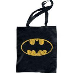 Torebki klasyczne damskie: Batman Logo Torba płócienna czarny