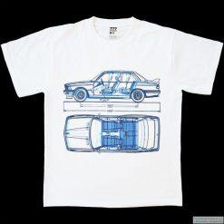 T-shirty męskie z nadrukiem: Koszulka BMW 3