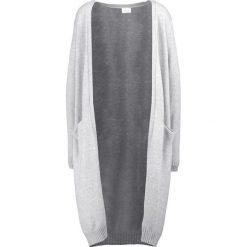 Swetry damskie: Vila VIRIL LONG CARDIGAN Kardigan light grey melange