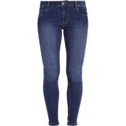 Rurki damskie: Monkee Genes MONROE Jeans Skinny Fit dark