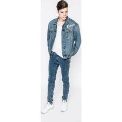 Lee - Jeansy Malone Riot. Niebieskie jeansy męskie z dziurami Lee. W wyprzedaży za 219,90 zł.