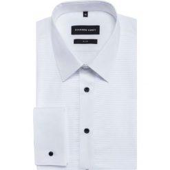 Koszula SIMONE KDBS000363. Białe koszule męskie na spinki marki Giacomo Conti, m, z bawełny, z klasycznym kołnierzykiem, z długim rękawem. Za 259,00 zł.