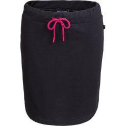 Spódnica dresowa damska  SPUD600 - czarny - Outhorn. Szare spódniczki marki Outhorn, melanż, z bawełny. Za 39,99 zł.
