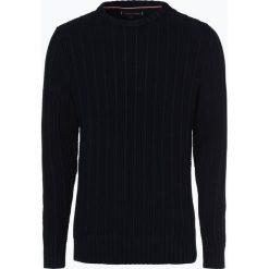 Tommy Hilfiger - Sweter męski, niebieski. Niebieskie swetry klasyczne męskie marki TOMMY HILFIGER, m. Za 599,95 zł.