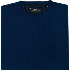 Sweter ALESSIO SWG000088. Brązowe swetry klasyczne męskie marki Giacomo Conti, na jesień, m, z materiału, z klasycznym kołnierzykiem. Za 259,00 zł.
