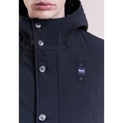 Płaszcze przejściowe męskie: Blauer IMPERMEABILE TRENCH LUNGHI Krótki płaszcz nero