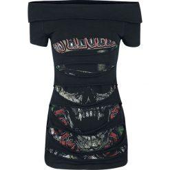Guns N' Roses EMP Signature Collection Koszulka damska czarny. Czarne bluzki asymetryczne xl, z nadrukiem, vintage. Za 99,90 zł.