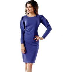 Długie sukienki: Sukienka w kolorze fioletowym