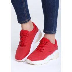 Czerwone Sneakersy Backyard. Czerwone sneakersy damskie vices, z materiału. Za 89,99 zł.