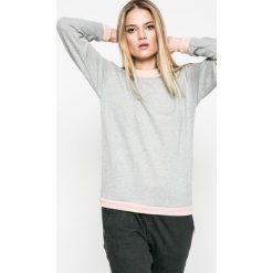 Vero Moda - Bluza. Szare bluzy damskie marki Vero Moda, m, z bawełny, bez kaptura. W wyprzedaży za 69,90 zł.