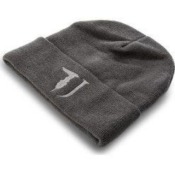 Czapka TRUSSARDI JEANS - Hat Knitted 57Z00026 E280. Szare czapki zimowe damskie marki Calvin Klein Jeans, na zimę, z jeansu. Za 149,00 zł.