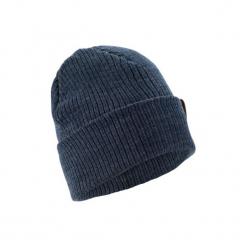 Czapka narciarska FISHERMAN. Niebieskie czapki męskie WED'ZE, z materiału, eleganckie. Za 24,99 zł.
