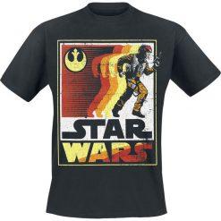 T-shirty męskie z nadrukiem: Star Wars Episode 8 – The Last Jedi – On The Run T-Shirt czarny