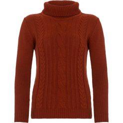 Swetry damskie: Golf w kolorze pomarańczowym