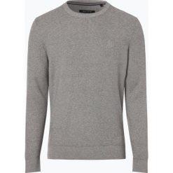 Marc O'Polo - Sweter męski, niebieski. Niebieskie swetry klasyczne męskie Marc O'Polo, l, z bawełny, polo. Za 389,95 zł.