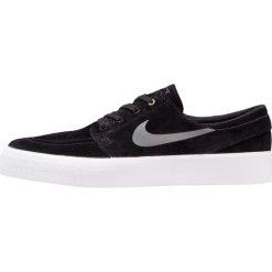 Nike SB ZOOM STEFAN JANOSKI PREM HT Tenisówki i Trampki black/dark grey/metalcli gold/white. Czarne trampki męskie Nike SB, z materiału. W wyprzedaży za 265,30 zł.