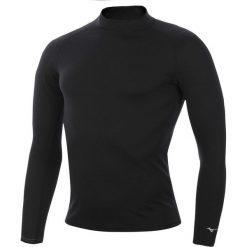 Koszulki do fitnessu męskie: koszulka termoaktywna męska MIZUNO LIGHTWEIGHT HIGH NECK