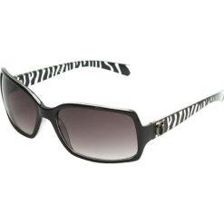 """Okulary przeciwsłoneczne damskie: Okulary przeciwsłoneczne """"GUF 7012 BLK-36"""" w kolorze czarno-białym"""