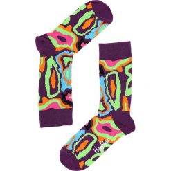 Fioletowe Skarpetki Mri Happy Socks. Fioletowe skarpetki damskie marki FOUGANZA, z bawełny. Za 29,99 zł.