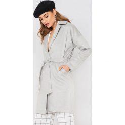 Płaszcze damskie pastelowe: Moves Płaszcz Ally – Grey
