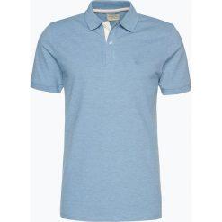 Selected - Męska koszulka polo – Shharo Melange, niebieski. Szare koszulki polo marki Selected, l, z materiału. Za 99,95 zł.