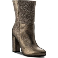 Botki GINO ROSSI - Yumiko DBH718-T26-0016-1400-0 12. Żółte buty zimowe damskie marki Kazar, ze skóry, na wysokim obcasie, na obcasie. W wyprzedaży za 329,00 zł.