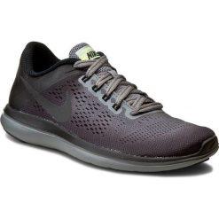 Buty NIKE - Flex 2016 Rn Shield 852447 001 Cool Grey/Mtlc Hematite/Black. Czarne buty do biegania damskie Nike, z materiału, nike flex. W wyprzedaży za 289,00 zł.