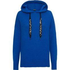 Sweter z kapturem bonprix niebieski. Szare swetry klasyczne damskie marki Reserved, m, z kapturem. Za 49,99 zł.