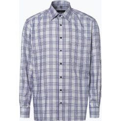Eterna Comfort Fit - Koszula męska niewymagająca prasowania, niebieski. Niebieskie koszule męskie non-iron Eterna Comfort Fit, m, z dekoltem karo. Za 249,95 zł.
