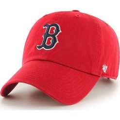 47brand - Czapka Boston Red Sox. Czerwone czapki z daszkiem męskie 47brand. Za 89,90 zł.