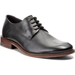 Półbuty TED BAKER - Irron 3 9-15115 Black. Czarne buty wizytowe męskie marki Ted Baker, z materiału. W wyprzedaży za 509,00 zł.