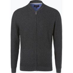 Swetry rozpinane męskie: Nils Sundström - Kardigan męski, szary