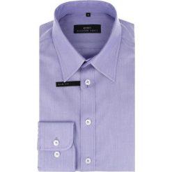 Koszula ENRICO slim 14-10-04. Białe koszule męskie na spinki marki bonprix, z klasycznym kołnierzykiem. Za 259,00 zł.