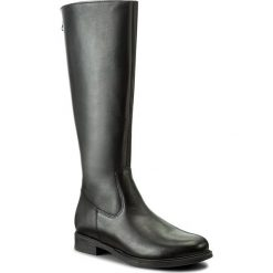 Oficerki LASOCKI - RST-KAMI-04 Czarny. Czarne buty zimowe damskie Lasocki, ze skóry, na obcasie. Za 279,99 zł.