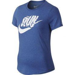 Nike Koszulka Run P Orgametric Swoosh Tee niebieska r. L (776636 456). Czarne topy sportowe damskie marki Nike, xs, z bawełny. Za 149,00 zł.