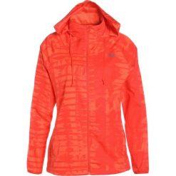 The North Face RAPIDA  Kurtka do biegania fire brick red. Pomarańczowe kurtki damskie do biegania marki The North Face, s, z materiału. W wyprzedaży za 213,85 zł.