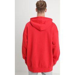 Adidas Originals TREF OVER HOOD Bluza z kapturem colred. Szare bluzy męskie rozpinane marki adidas Originals, l, z nadrukiem, z bawełny, z kapturem. Za 379,00 zł.