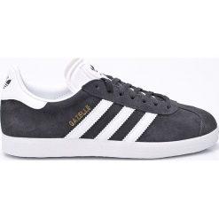 Adidas Originals - Buty Gazelle. Szare buty sportowe damskie adidas Originals, z gumy. W wyprzedaży za 349,90 zł.
