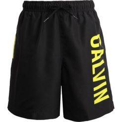 Kąpielówki chłopięce: Calvin Klein Swimwear MEDIUM DRAWSTRING PRINT Szorty kąpielowe black