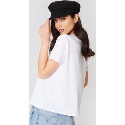 NA-KD T-shirt Lemon - White,Multicolor. Białe t-shirty damskie NA-KD, z nadrukiem, z bawełny. Za 72,95 zł.
