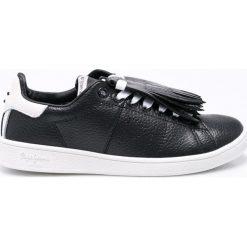 Pepe Jeans - Buty Brompton Basic. Szare buty sportowe damskie marki Pepe Jeans, z jeansu. W wyprzedaży za 219,90 zł.