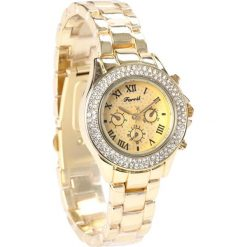 Złoty Zegarek Magic Hour. Żółte zegarki damskie Born2be, złote. Za 59,99 zł.
